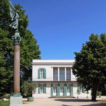 The new pavilion next to the Charlottenburg Palace