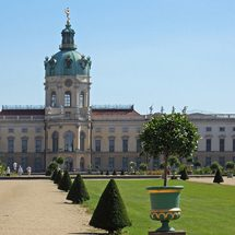 in the garden of Charlottenburg Palace